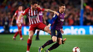 Atlético Madrid [🏧👥] ALINEACIÓN Con todos vosotros... 1⃣1⃣ ¡Nuestro once inicial para el #AtletiBarça! 👇 🔴⚪ #AúpaAtleti pic.twitter.com/QOPYx6KQz3 — Atlético...