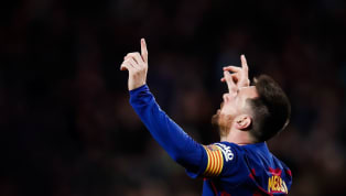 Win Lionel Messi celebrated his 50th goal of the calendar year on Saturday as Barcelona overcame Alaves 4-1 at Camp Nou in La Liga. And he did it in some...