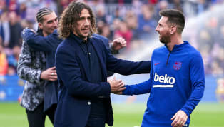 Barcelonalegend Carlos Puyol has backed Lionel Messi to continue playing until he's at least 38, and believes that the Argentine will finish his career at...