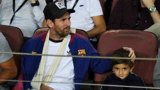 ​Barcelona star Lionel Messi has opened up about his sons' time with the club's youth academy, adding that he loves to watch them train alongside Luis...
