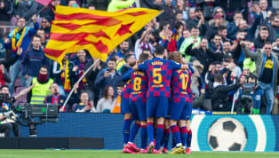 Barcelona closed the gap at the top of La Liga with a big win at Camp Nou, as they beat Getafe 2-1 on Saturday afternoon. Second place met third with both...