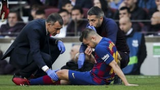 jury Barcelona have confirmed Jordi Alba will be out of action for three weeks after the left back picked up aninjury against Getafe, with the Spain...
