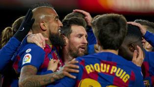 Barcelonaberhasil meraih poin penuh dan mempersembahkan kemenangan di era kepelatihan Quique Setien saat menjamu tim promosi, Granada dalam lanjutan...