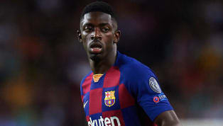​Barcelona winger Ousmane Dembele is at risk of missing the club's upcoming clash with Real Madrid after he was sent off for insulting referee Miguel Antonio...