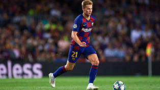 ​He's only been at ​Barcelona a few months, but ​Frenkie de Jong has been mighty impressive. The former Ajax man has settled in well in the middle of La...