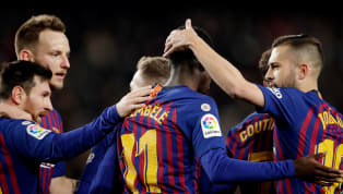 A brace from Ousmane Dembele and a clinical Lionel Messi strike handed Barcelona a 3-0 win over Levante, securing their place in the Copa del Rey...