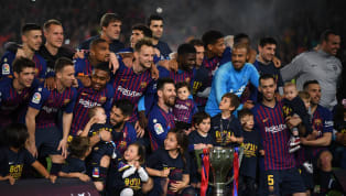 Barcelona started their league campaign with a loss at the hands of Athletic Club Bilbao after veteran forward Aritz Aduriz scored a cracker of a goal late in...