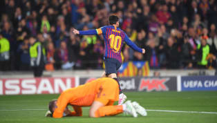 Barcelona star Lionel Messi admited that he needed a slice of luck to find the back of the net against Manchester United on Tuesday, but insisted the club...