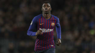 Barcelona winger Ousmane Dembele is said to be desperate to recover from his hamstring injury early enough to face Manchester United in the Champions League...
