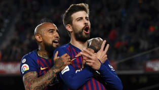 Win Barcelona teammates Gerard Pique and Arturo Vidal were simply not content with three points at the weekend. After beating Real Betis 5-2 in an...