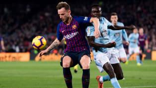 ElFC Barcelonarecibe en el Camp Nou alCelta de Vigoen la decimotercera jornada deLaLiga Santander. El líder del campeonato (con un partido menos, al...