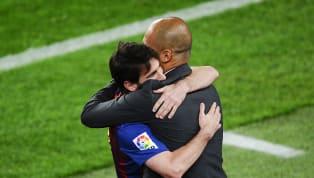"""""""Guardiola è stato un maestro unico per me. Un allenatore che vede prima tutto quello che succede in campo"""". Lionel Messi intervistato ai microfoni di Fox..."""