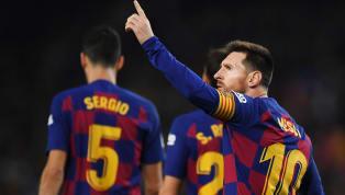 Lionel Messi ghi hat-trick trong ngày Barcelona hủy diệt Mallorca với tỉ số 5-2 ở vòng 15 La Liga. Xem qua những điểm nhấn quan trọng trong chiến thắng vừa...