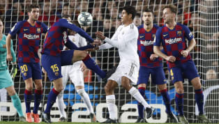 ​Barcelona defender Clement Lenglet has defended himself following his challenge on Real Madrid's Raphael Varane during Wednesday's Clásico at Camp Nou. ...