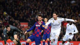 Real MadridvàBarcelonasắp đối đầu nhau trong trận Siêu Kinh Điển cuối tuần này ngày 2/3 ở La Liga, cùng điểm qua đội hình kết hợp giữa hai gã khổng lồ...