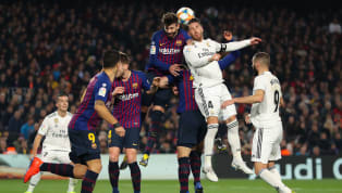 Barcelona defender Gerard Pique said that his Real Madrid counterpart Sergio Ramos was lucky to avoid a red card in the Copa del Rey semi final first leg on...