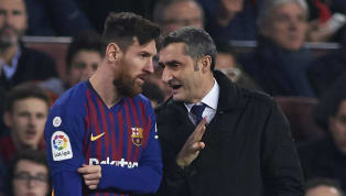 Barcelonaboss Ernesto Valverde has hailed the club's talisman Lionel Messi after the Argentinian scored the 50th hat-trick of his career to help the...