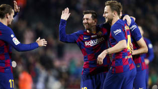 Ivan Rakitic has landed himself in hot water withBarcelonafans after uploading a picture of himself 'disrespecting' Lionel Messi on Instagram.The...