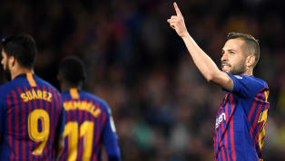 ​​Barcelona defender Jordi Alba has claimed that the intense match against ​Manchester United in the second leg of the Champions League quarter-finals made...