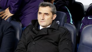 Ernesto Valverde has insisted that he is not concerned by Barcelona's recent lack of goals ahead of the Blaugrana's Champions League tie against Lyon on...