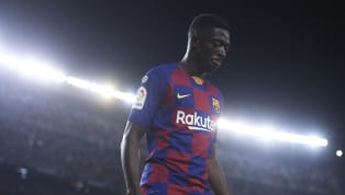 Lionel Messi was seen trying to defend Barcelona teammate Ousmane Dembélé after the Frenchman was deemed to have insulted refereeMiguel Antonio Mateu Lahoz...