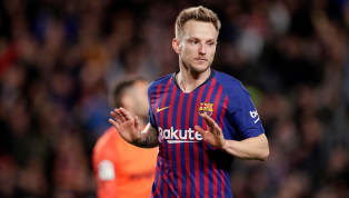 inks ​Barcelona midfielder Ivan Rakitic has insisted he is 'happy' at the club following recent reports linking him with a possible move to Chelsea and...