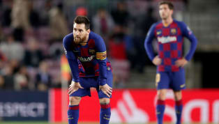 It was a tough night for Barcelona and Lionel Mession Tuesday, as the Catalan giants were held to a shock 0-0 drawby Slavia Prague in the Champions League...