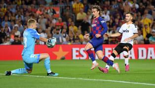 İspanya La Liga'nın 4. hafta mücadelesinde Barcelona, kendi sahasında Valencia'yı 5-2 mağlup etti. Katalan ekibine galibiyeti getiren golleri; 2. dakikada...