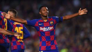 Ansu Fati menjadi salah satu pemain Barcelona yang memberikan kejutan setelah Luis Suarez dan Lionel Messi absen dalam tiga pertandingan awal La Liga 2019/20...