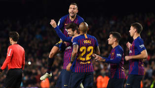 Barcelona moved to the top of La Liga after a 2-0 win against Villareal thanks to goals from Carles Aleña and Gerard Pique. In what was a rather dull contest...