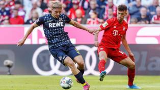 1. FC Köln  Keine Änderung in der #effzeh-Startelf: Markus Gisdol setzt gegen Bayern auf die Siegerelf vom Freiburg-Spiel. 🔴⚪ #KOEFCB...