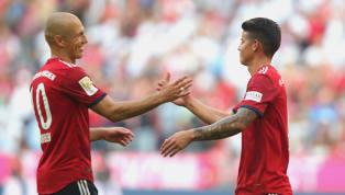 DerFC Bayern Münchenmuss im Topspiel gegen den BVB auf den bereits angeschlagenen Arjen Robben verzichten. James Rodriguez ist nach zwischenzeitlicher...