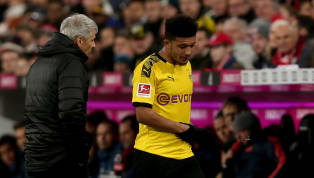​Borussia Dortmund manager Lucien Favre has explained that his decision to withdraw Jadon Sancho in the first half of their Der Klassiker annihilation was not...