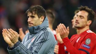 Javi Martinez musste das Abschlusstraining desFC Bayern Münchenoffenbar vorzeitig abbrechen. Wie die Bild berichtet, prallte der Spanier heftig mit Mats...