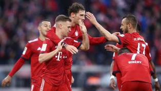fit Leon Goretzka und Joshua Kimmich fliegen nicht mit dem Team nach Berlin. Während Goretzkas Einsatz im Pokalfinale fraglich ist, erwartet Kimmich...