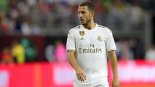 Its been a long time coming, but Eden Hazard finally pulled on the famous white jersey in an actual game of football at theNRG Stadium inHouston, Texas....
