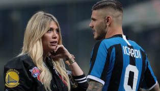 Manchester United and Manchester City have been put off making an offer for Inter striker Mauro Icardi - largelydue to the notoriety of the striker's wife...