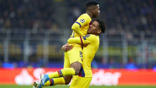 Goals from La Masia graduates Carles Perez and Ansu Fati guided a second-string Barcelona side to a 2-1 win over Inter on Tuesday night, knocking the Serie A...