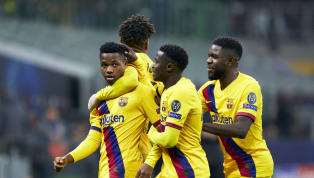 Barcelona prodigy, Ansu Fati recently created history when he became the youngest Champions League goalscorer of all-time during their 2-1 win over Inter...