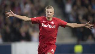 MentreMessi, Griezmann, Salah, Mané e altri grandi giocatori erano impegnati nel debutto stagionale in Champions League un giovane attaccante norvegese ha...
