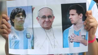 ​Pope Francis has said that, whilst Lionel Messi is undoubtedly a great player, he is not God. However, the head of the Catholic church also said he doesn't...