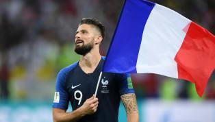 Décisif face à la Moldavie, Olivier Giroud est devenu le troisième meilleur buteur de l'Equipe de France à égalité avec Trezeguet (34 buts). Prochain...