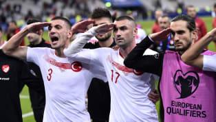 UEFA, 2020 Avrupa Futbol Şampiyonası Elemeleri'nde A Milli Takımımız'ın Arnavutluk ve Fransa ile oynadığı karşılaşmalarda oyuncularımızın olası siyasi...