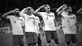 """Barış Pınarı Harekatı nedeniyle Mehmetçik'e destek amaçlı gol sonrası yapılan """"Asker Selamı"""", UEFA tarafından """"Potansiyel kışkırtıcı ve politik davranış""""..."""