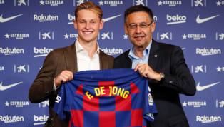 Barcelonanew boy Frenkie de Jong announced his arrival on the world stage in style after going through an incredible lastseason with Ajax. His...
