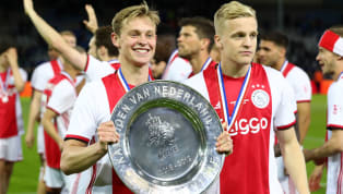FC Barcelonamidfielder Frenkie de Jong has stated that whilehe would prefer Ajax to remain a strong team in Europe, hewill be reallyhappy to see his...