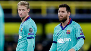 FC Barcelonamidfielder Frenkie de Jong has revealed that the whole team missed Lionel Messi when he was out due to injury during the course of this season....