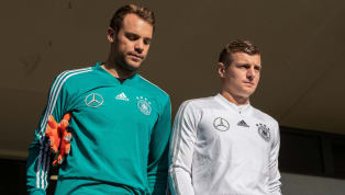 iers ​Marc-André ter Stegen and Toni Kroos have both been left out of Joachim Löw's Germany squad for their upcoming Euro 2020 qualifiers against Belarus and...