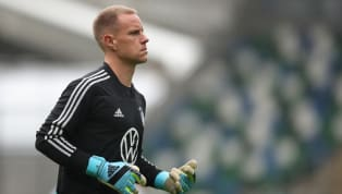 Barcelona keeper Marc-Andre ter Stegen has admitted that playing second fiddle to Manuel Neuer on the international stage makes him 'crazy', but says...