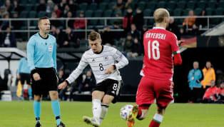 Toni Kroos mới đây đã ghi liên tiếp hai siêu phẩm vào lưới của Belarus trong trận đấu của tuyển Đức ở vòng loại Euro 2020. Đức tiếp đón Belarus trên sân nhà...